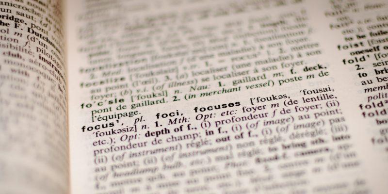 Jeugdzorg woordenboek
