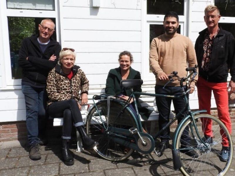 Jongeren Antonius werken mee aan Castricums project 'Een fiets voor iedereen'